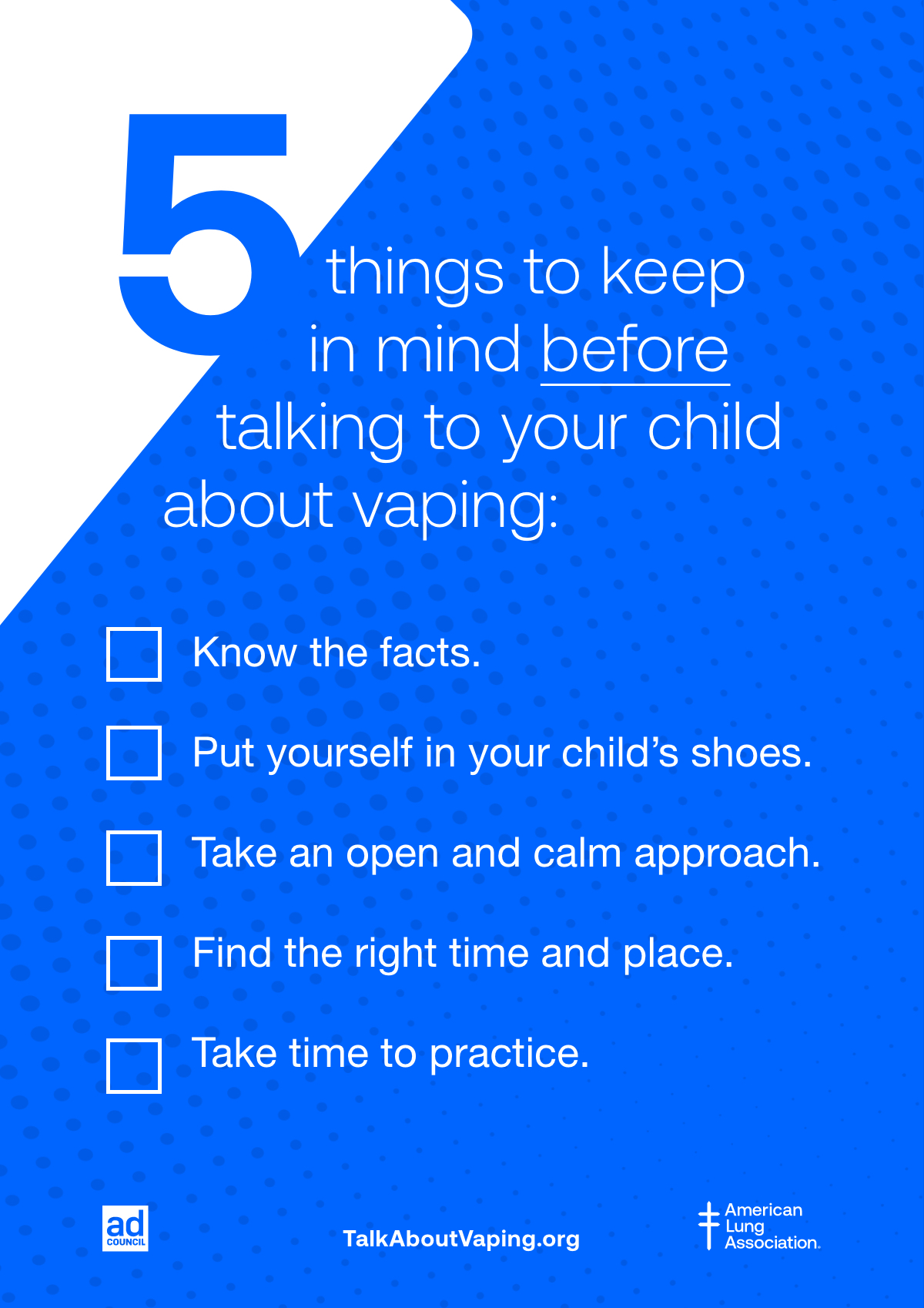 Tips before you begin the vape talk